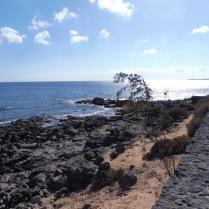 Lanzarote coastline