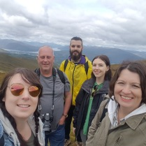 Family trip to the Ben Nevis mountains, Scotland