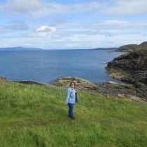 Exploring the Scottish coastline