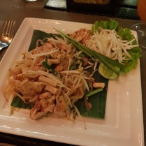 First pad Thai