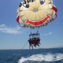 Parasailing in Alcudia
